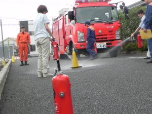 朝日ハーモニー_自衛消防訓練